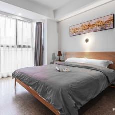 201978平简约三居卧室设计效果图