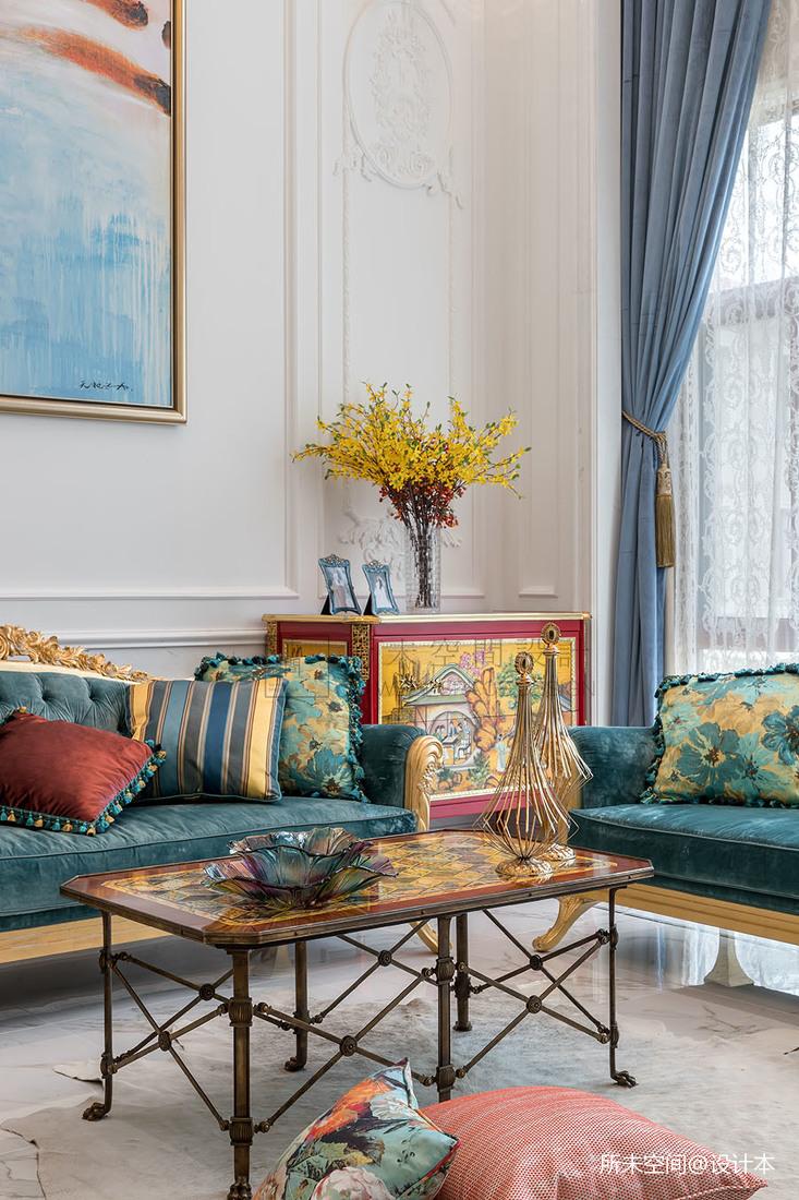華麗425平法式別墅客廳裝修美圖