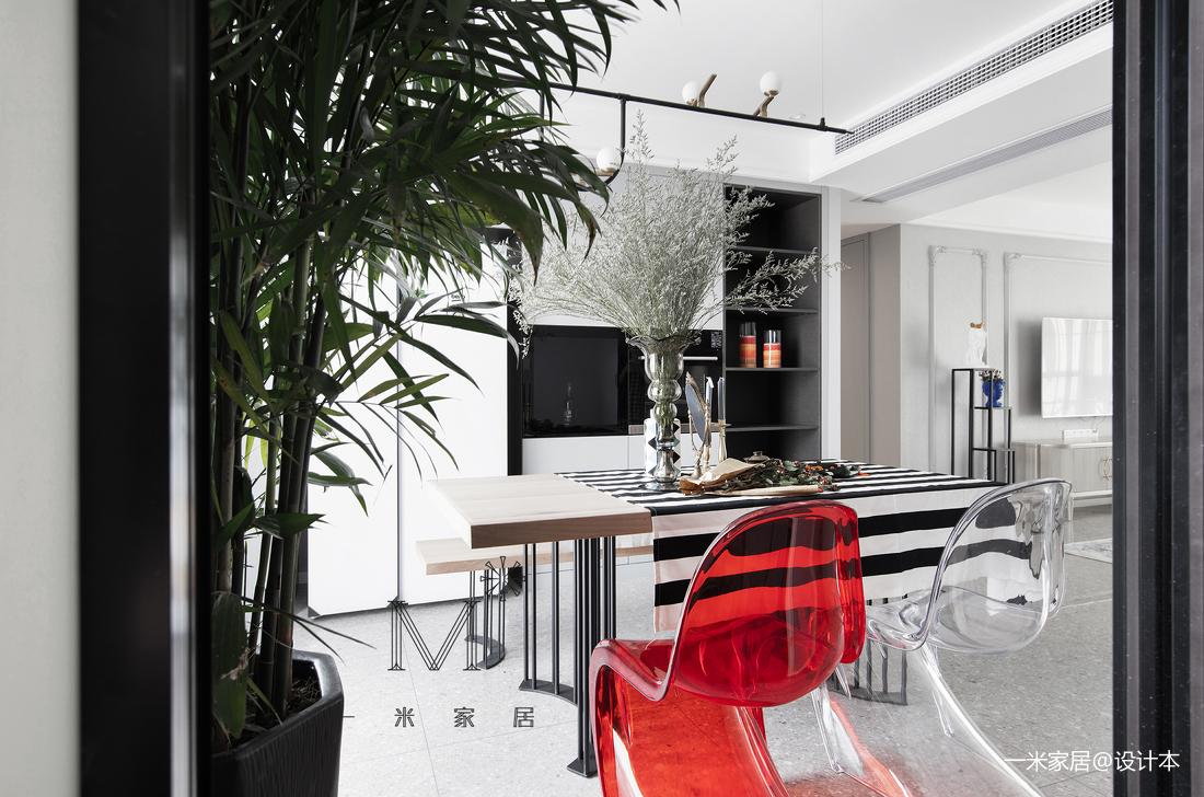 201978平混搭三居餐厅装修案例