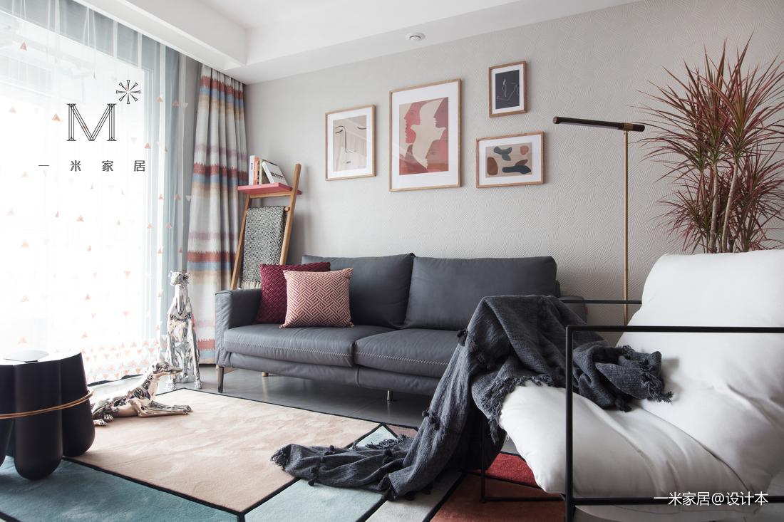 典雅23平现代小户型客厅装饰美图
