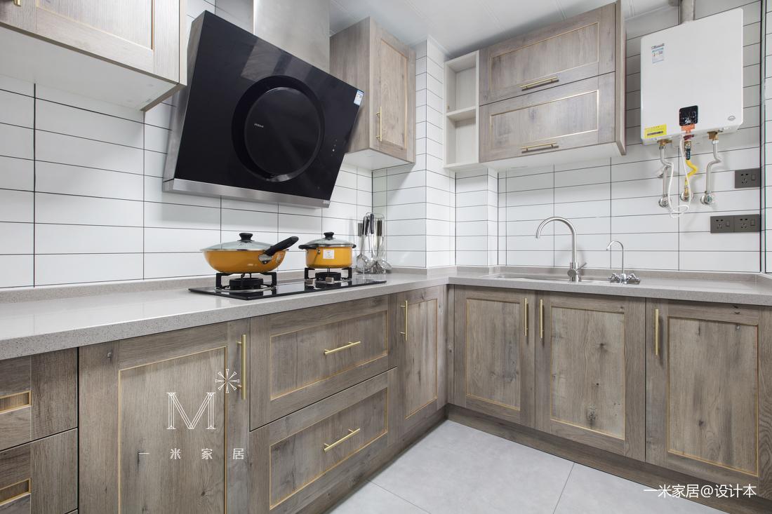 明亮22平现代小户型厨房效果图