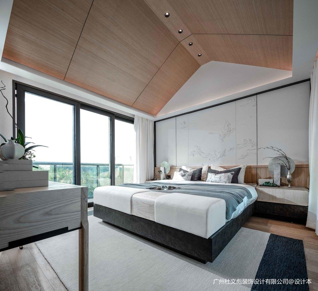 轻奢893平现代别墅卧室设计图