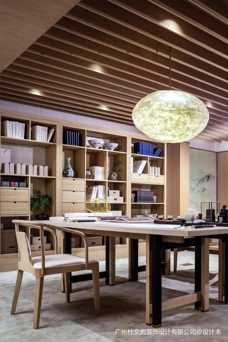优雅750平现代别墅书房图片欣赏