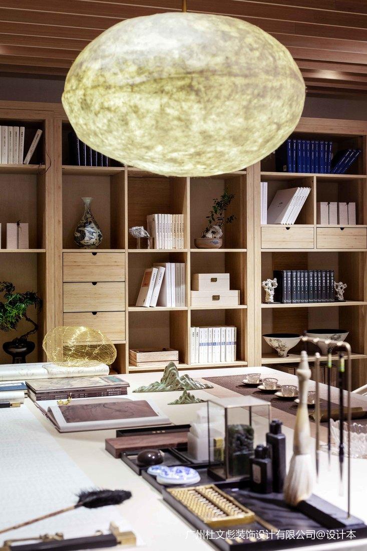 温馨775平现代别墅书房装饰美图