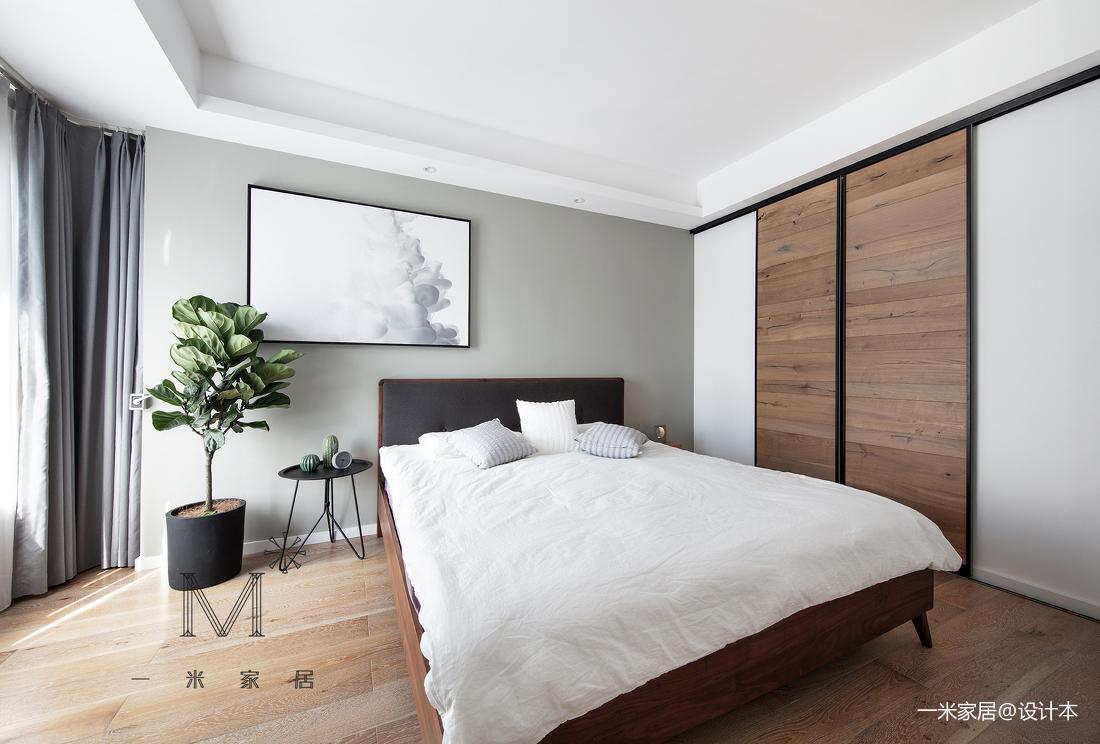简洁74平现代二居卧室设计案例