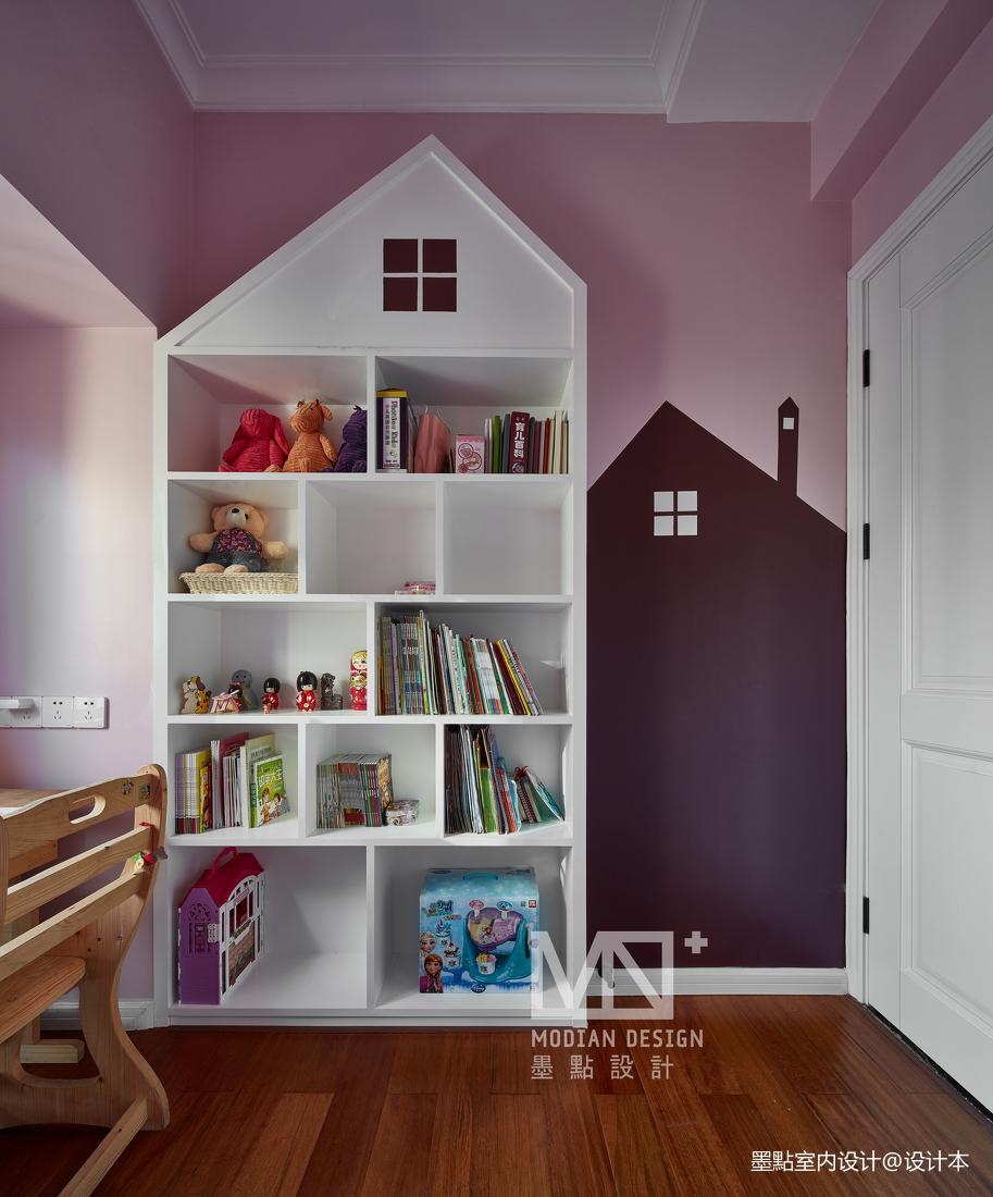 质朴156平美式四居儿童房装修案例