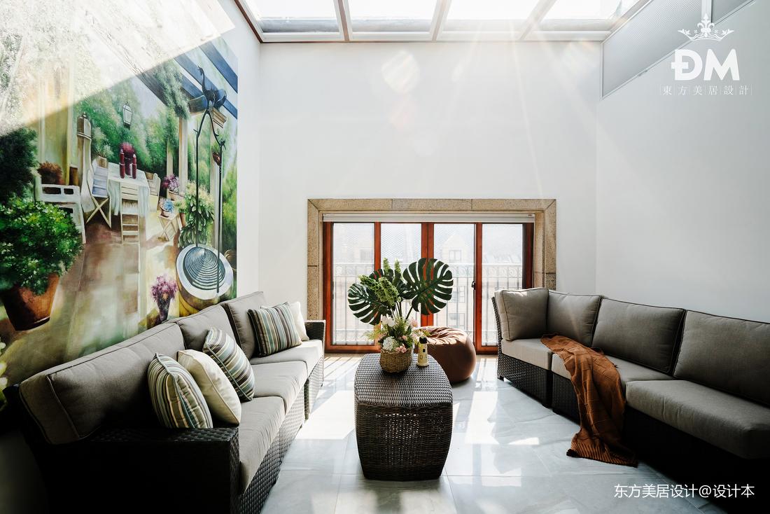 600平复式住宅休闲区设计图片