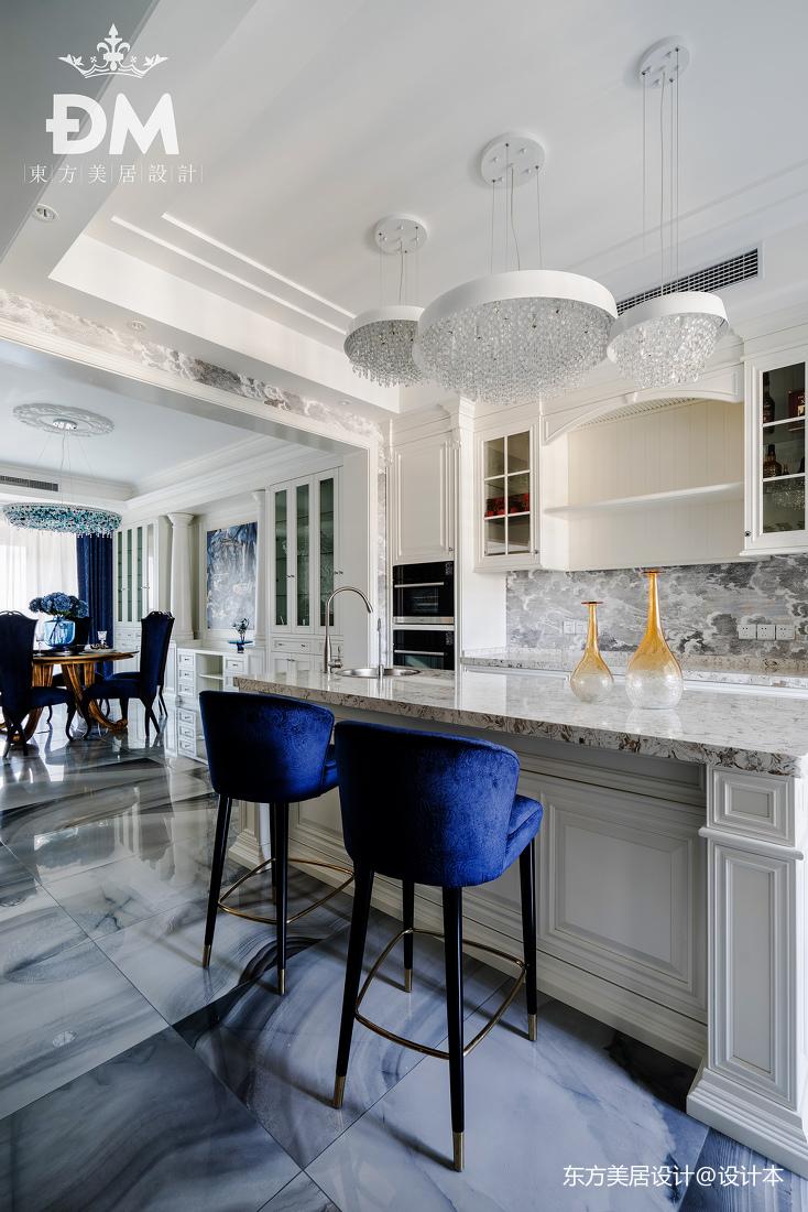 600平复式住宅小吧台设计实景图