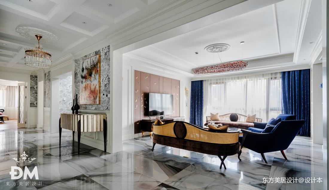 600平复式住宅客厅设计图