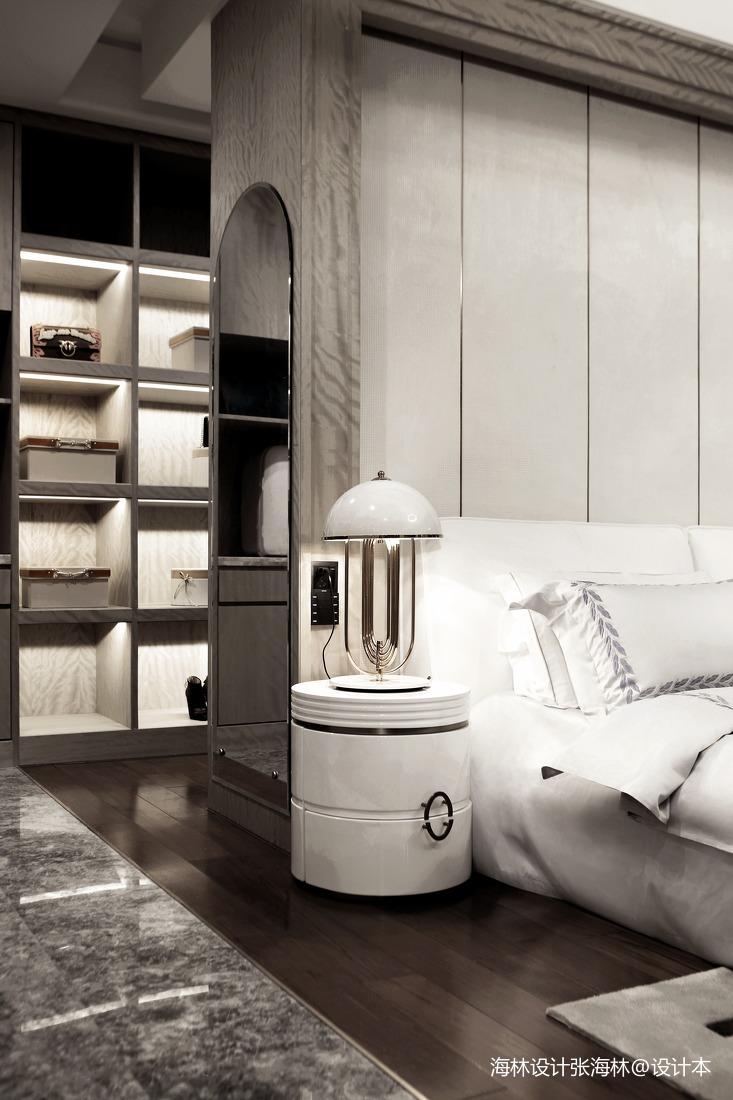 大气488平中式别墅卧室设计美图