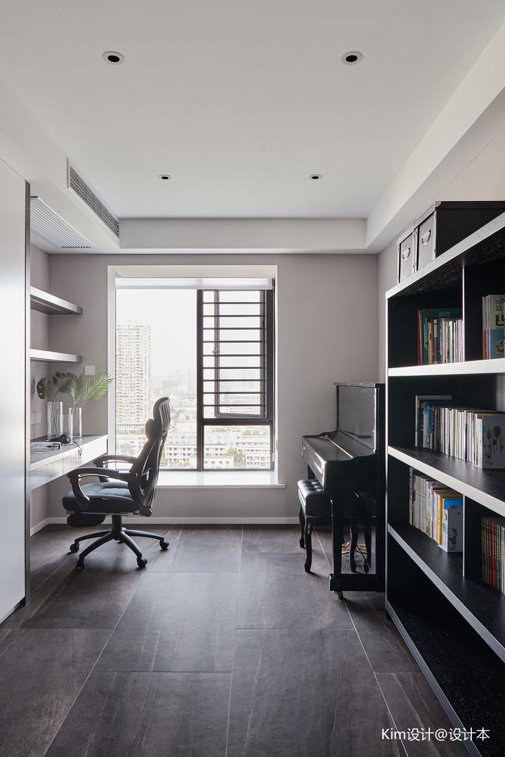 典雅142平现代四居书房装修装饰图