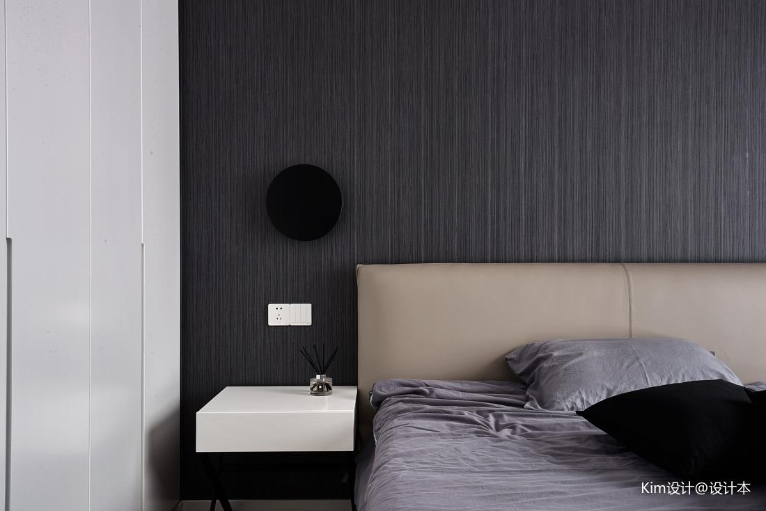 明亮160平现代四居卧室实拍图