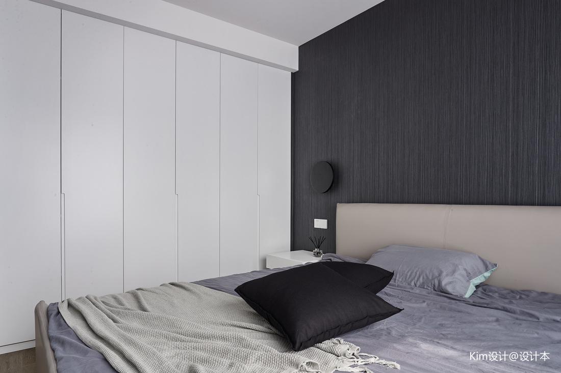 简洁114平现代四居卧室效果图片大全