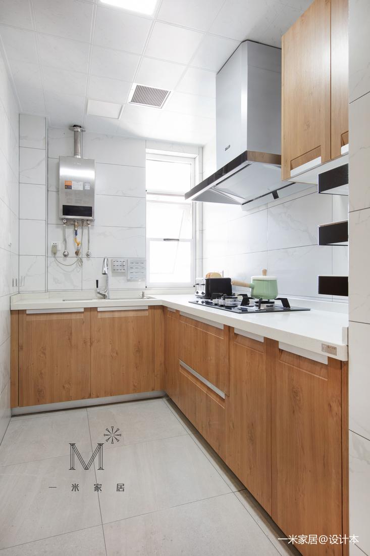简洁62平混搭二居厨房装修美图