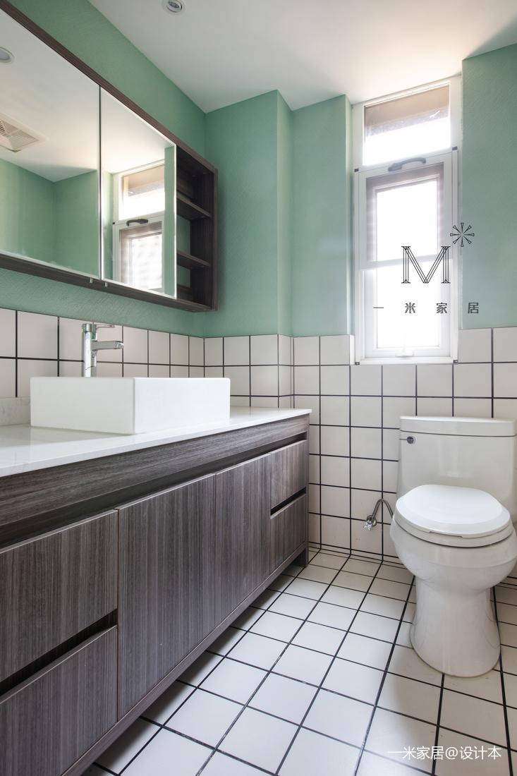 华丽52平混搭二居卫生间图片大全