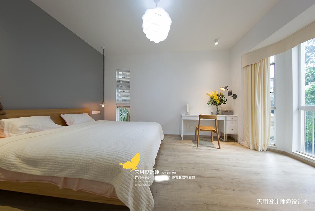201993平北欧三居卧室装修案例