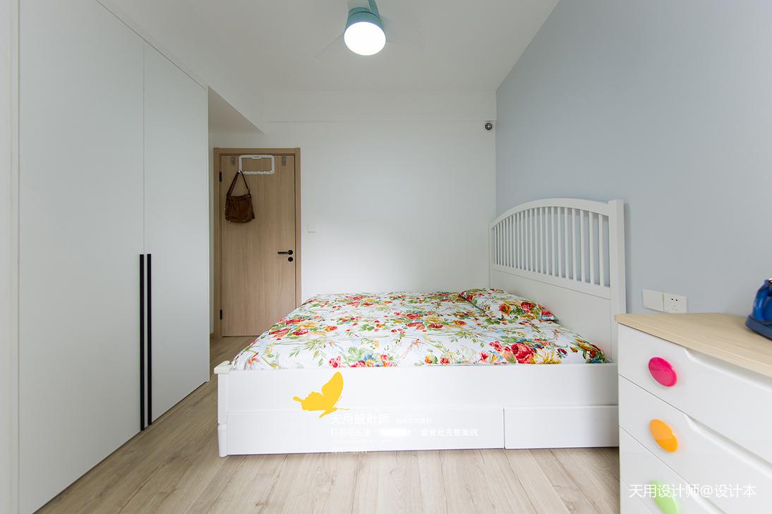 精美103平北欧三居儿童房装修美图