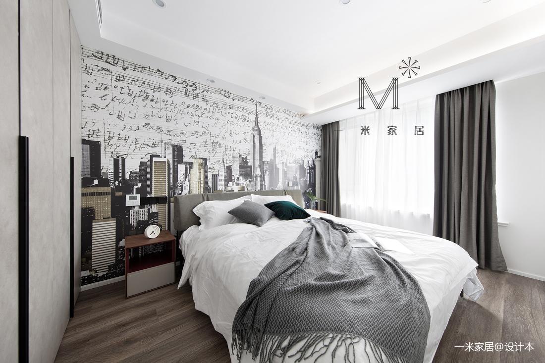 温馨88平简约二居卧室效果图欣赏