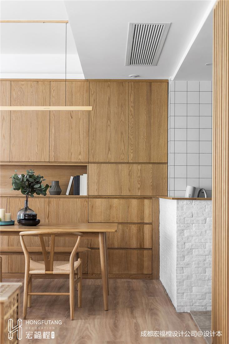 日式混搭餐廳儲物柜設計