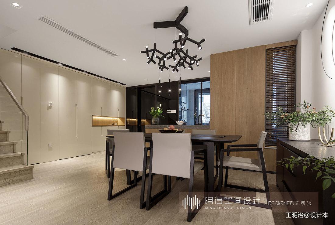 台式风格别墅餐厅设计图