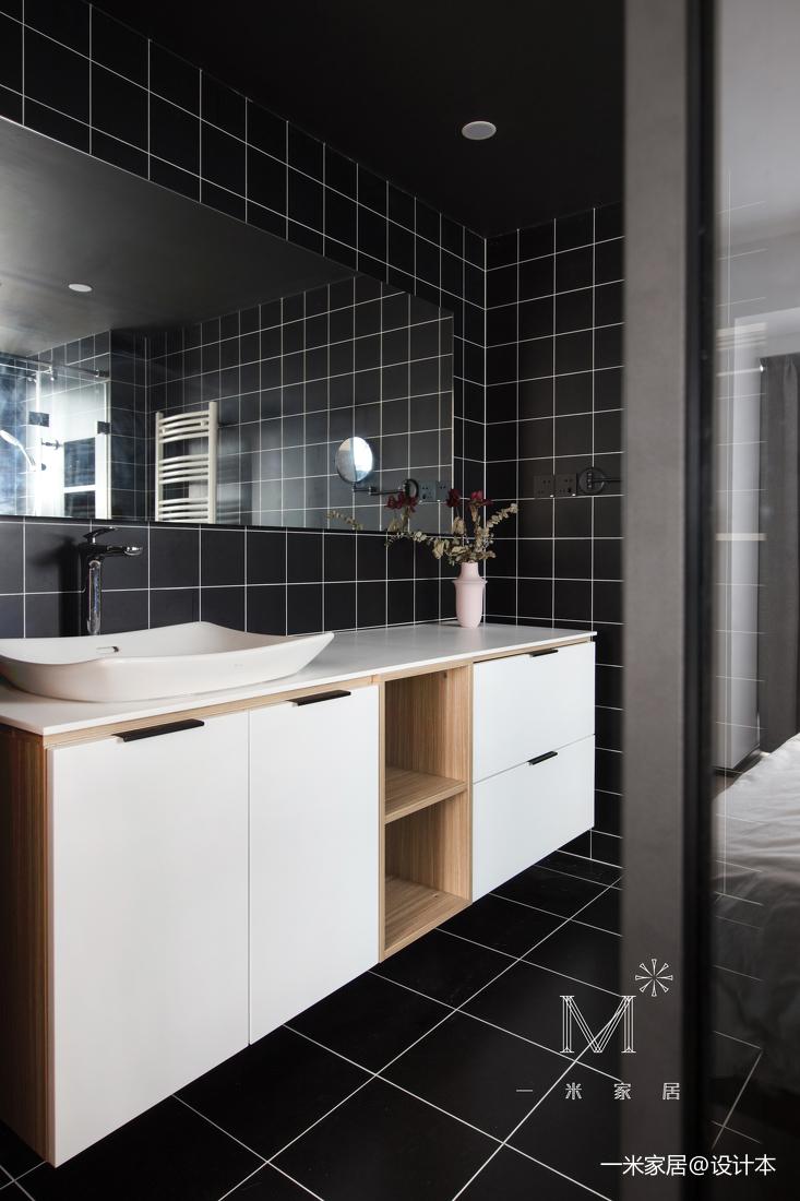 优雅69平现代二居卫生间装修图片