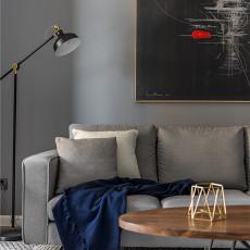 精美92平现代三居客厅装饰图