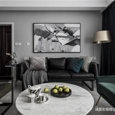精致120平现代三居客厅设计美图