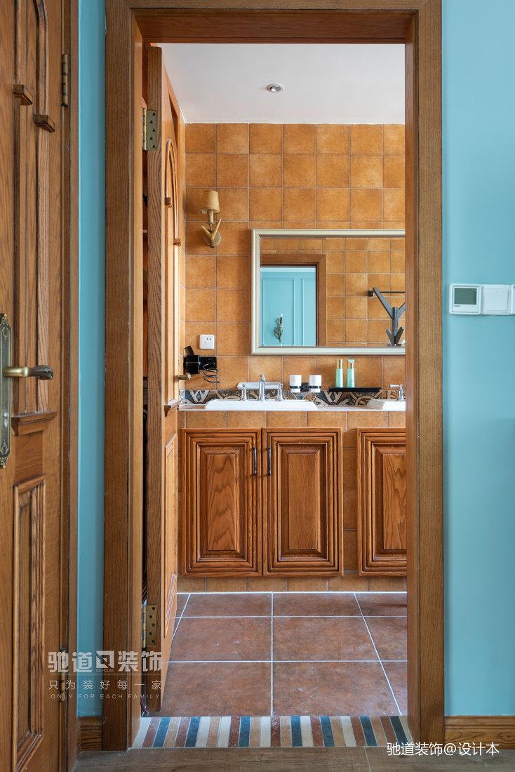 悠雅419平法式别墅卫生间设计美图