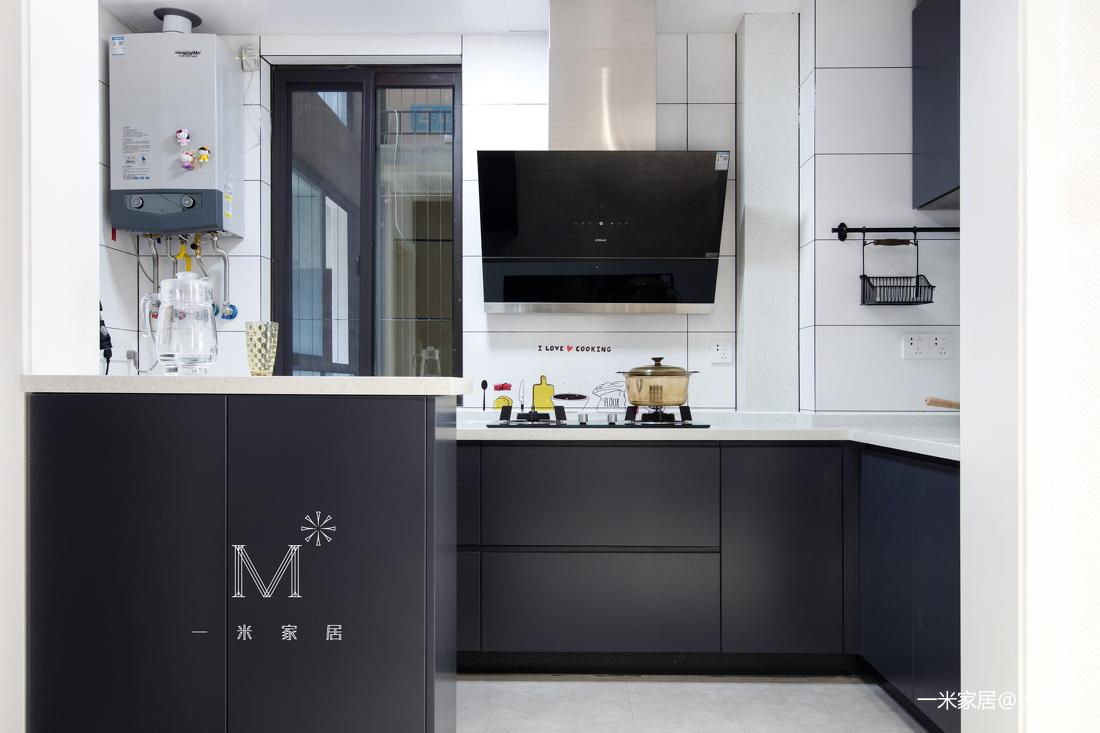 华丽51平现代二居厨房装潢图