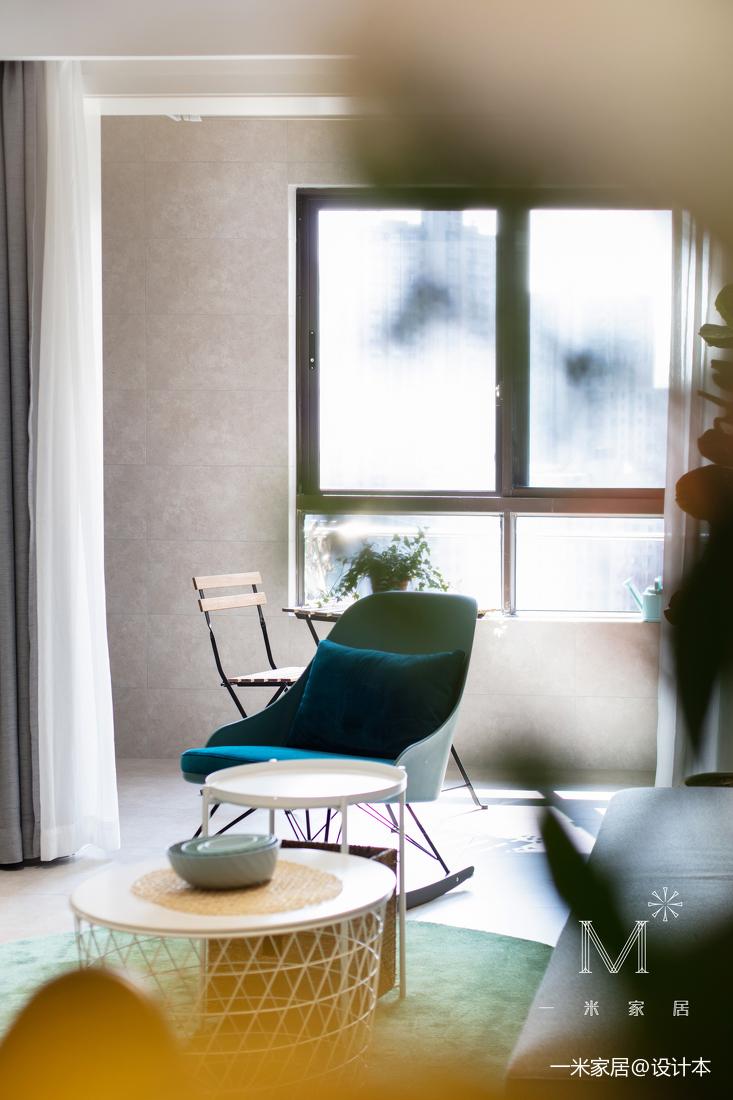 优美51平现代二居装修案例