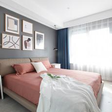 温馨78平现代二居卧室装修案例