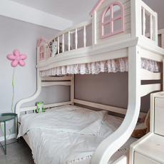质朴54平现代二居儿童房设计美图