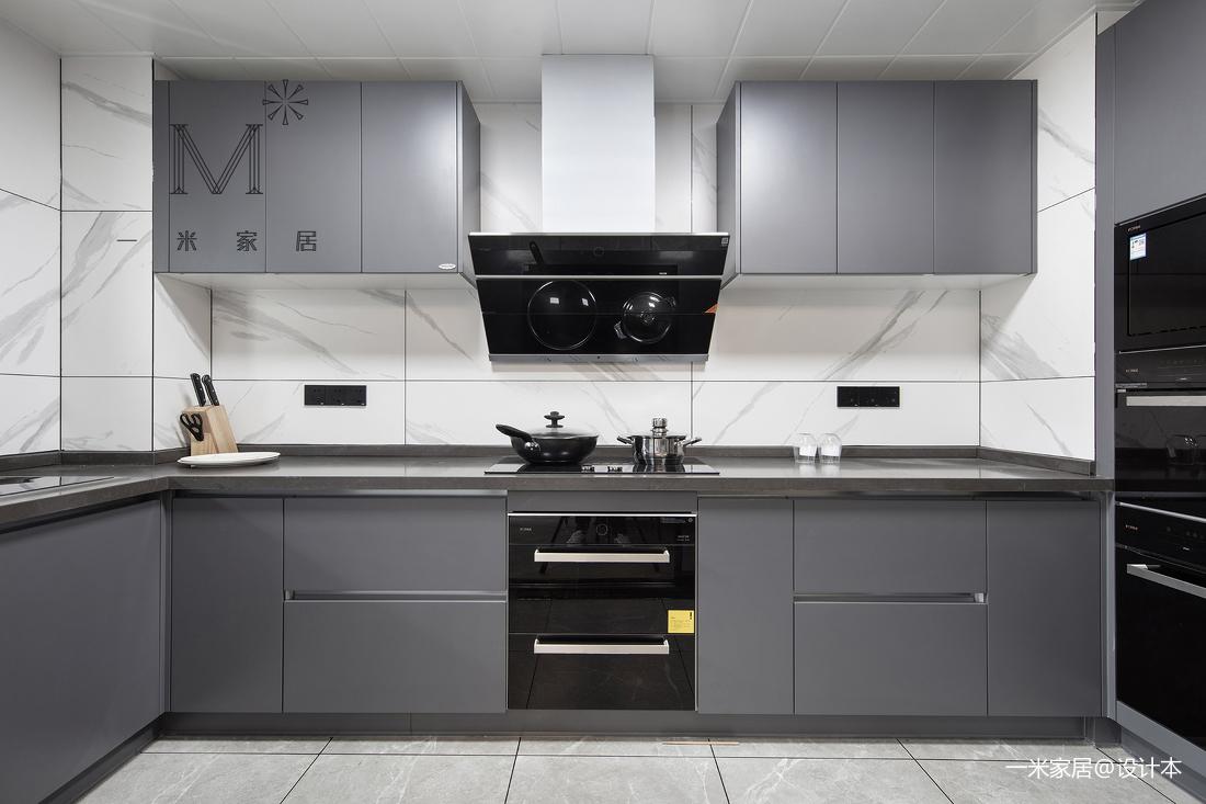悠雅112平现代三居厨房装修美图