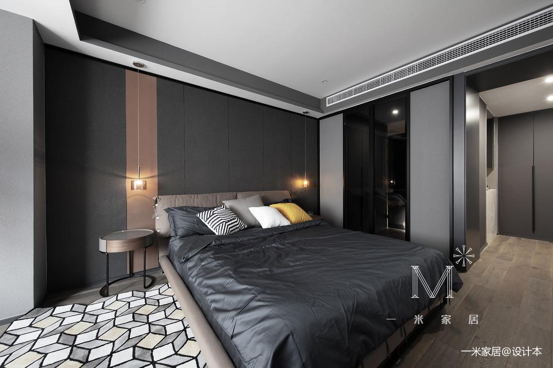 温馨73平现代二居卧室装修美图