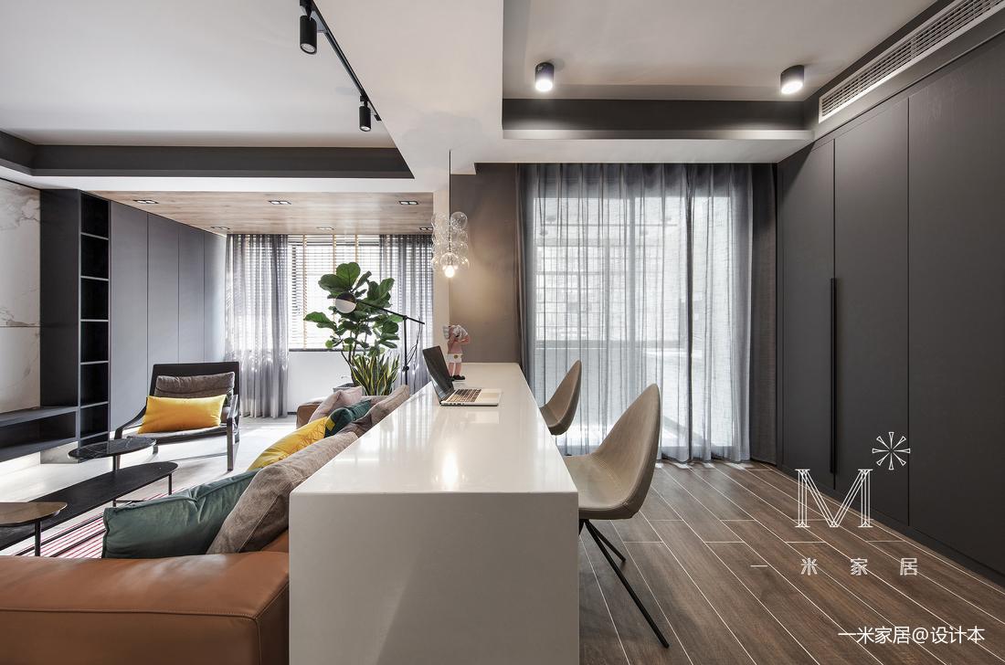 201970平现代二居装修设计图