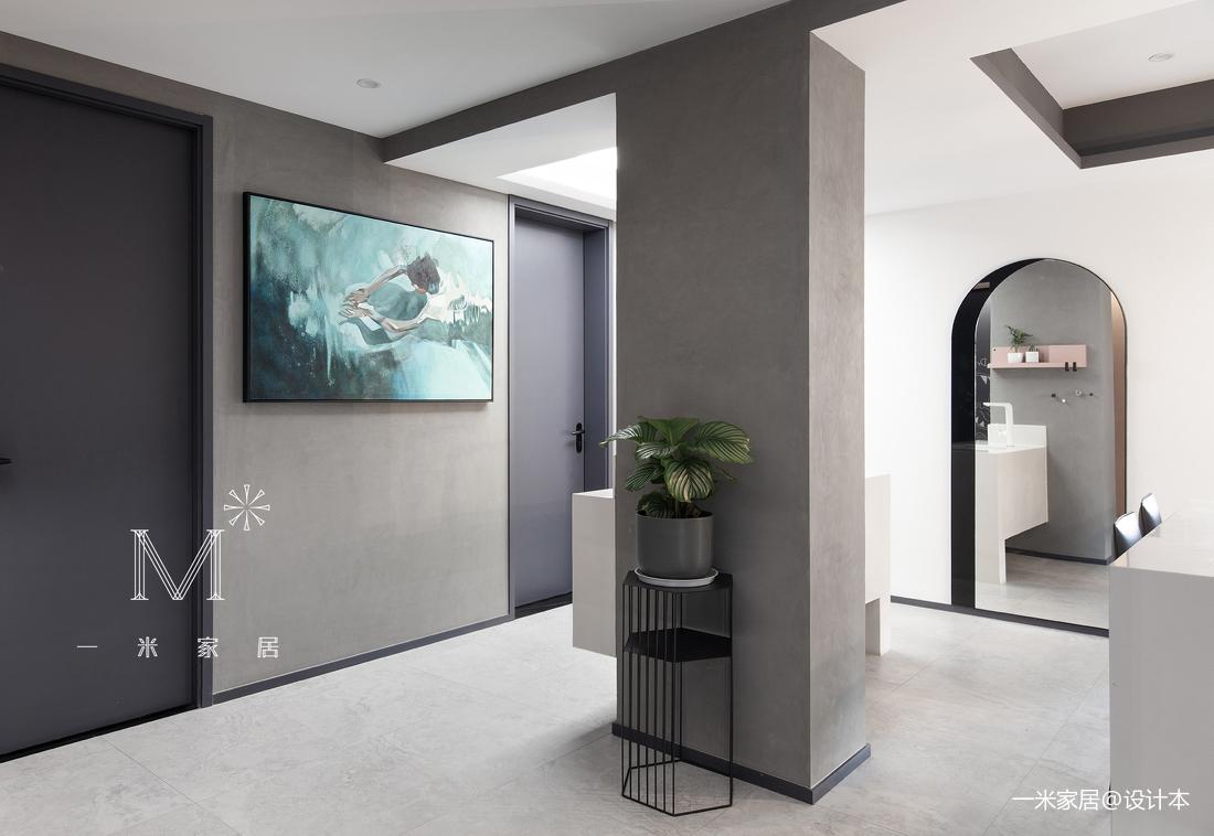 大气87平现代二居装饰图