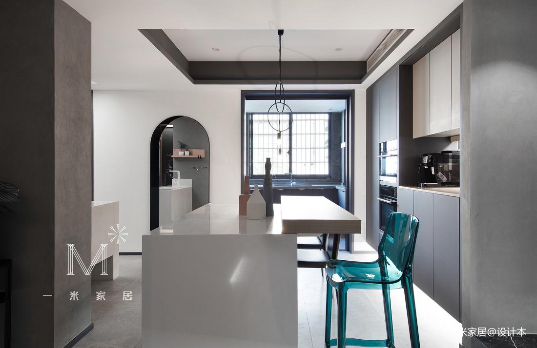 精致74平现代二居餐厅设计图