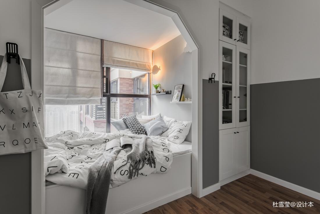 明亮76平北欧二居卧室设计图