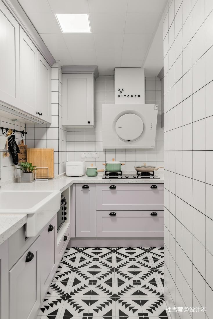 优雅64平北欧二居厨房设计效果图