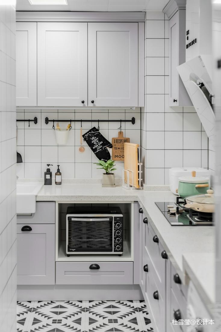 优雅57平北欧二居厨房装修案例