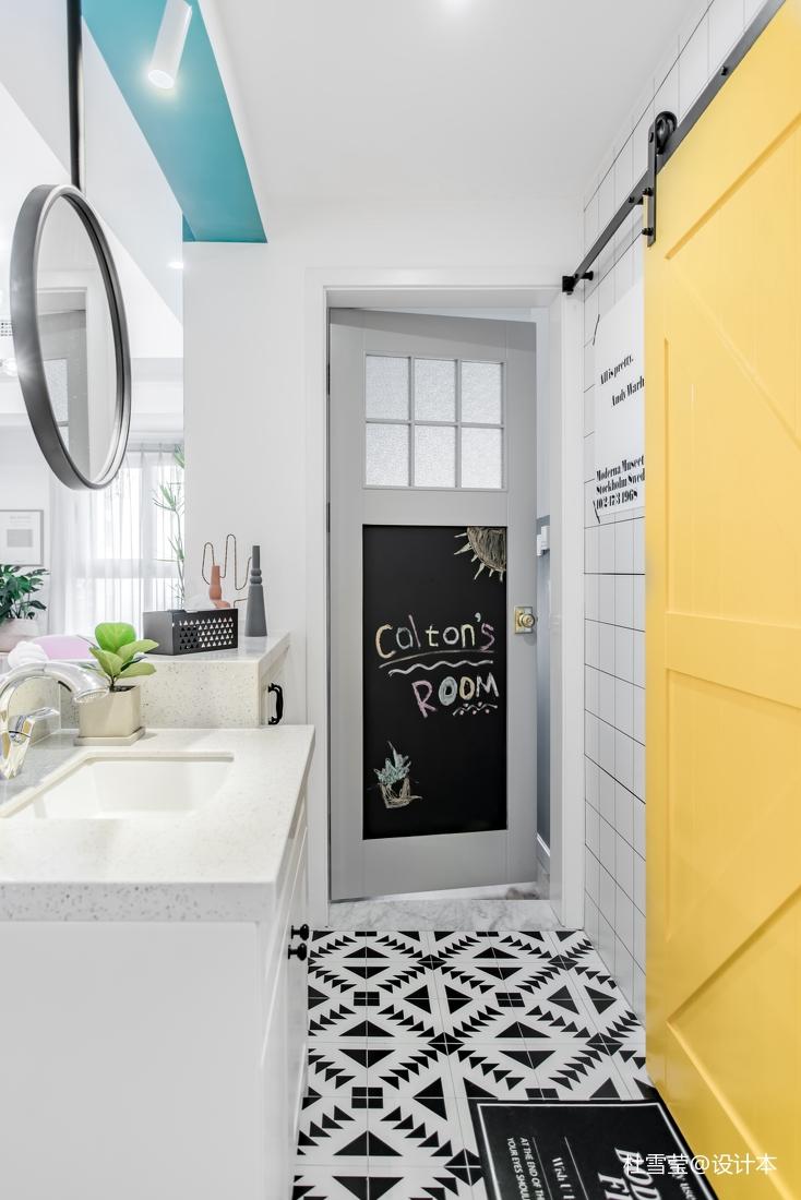 精致65平北欧二居卫生间装饰图片