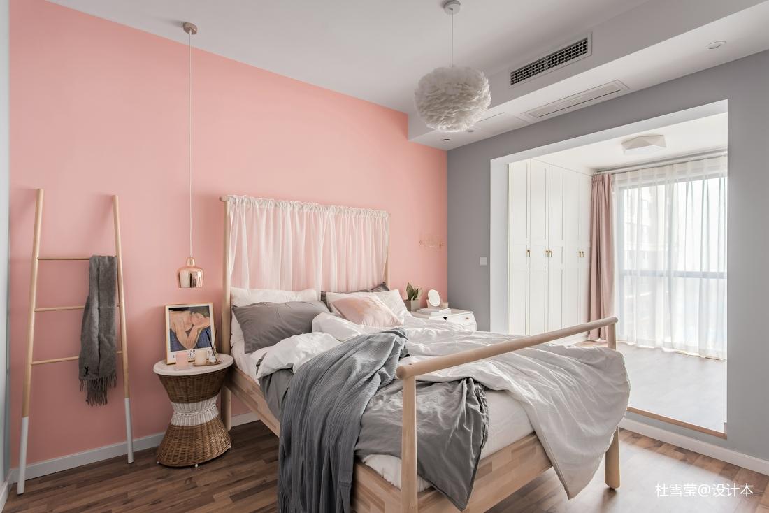 温馨83平北欧二居卧室设计图