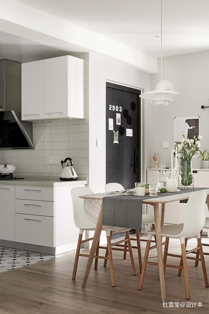 轻奢24平北欧小户型餐厅设计案例