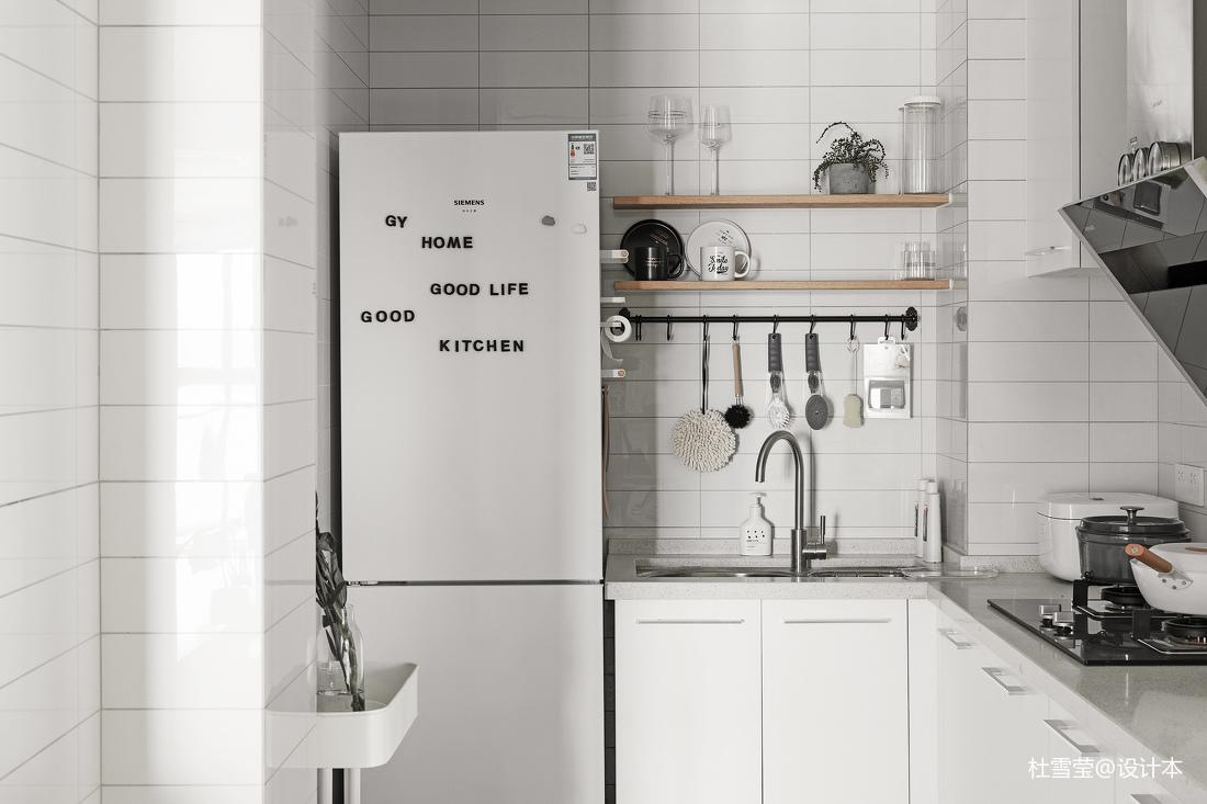 201928平北欧小户型厨房装修装饰图