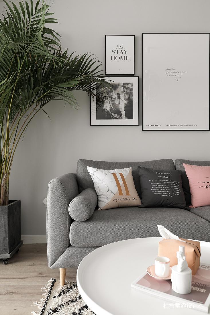 简洁33平北欧小户型客厅装修图片