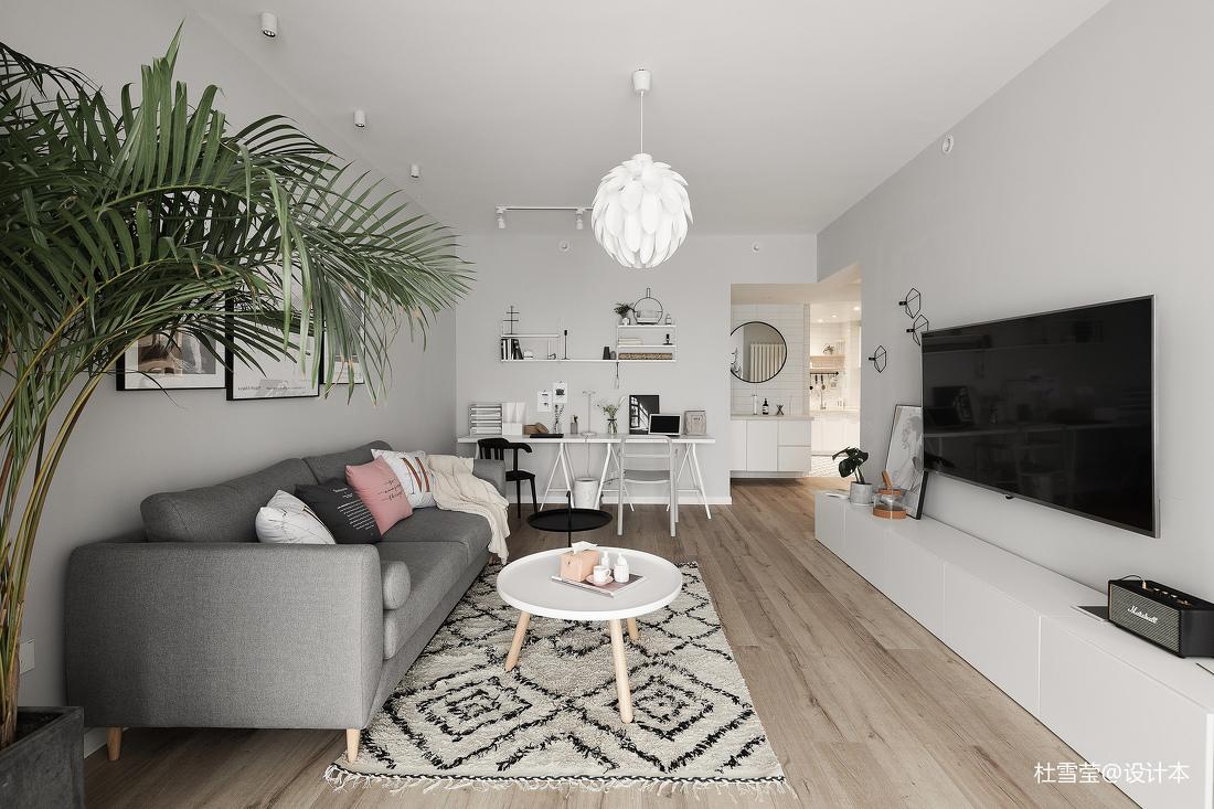典雅24平北欧小户型客厅图片大全