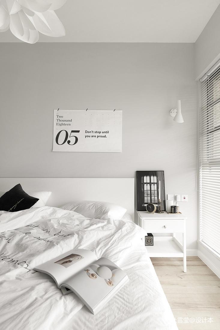 温馨35平北欧小户型卧室装修设计图