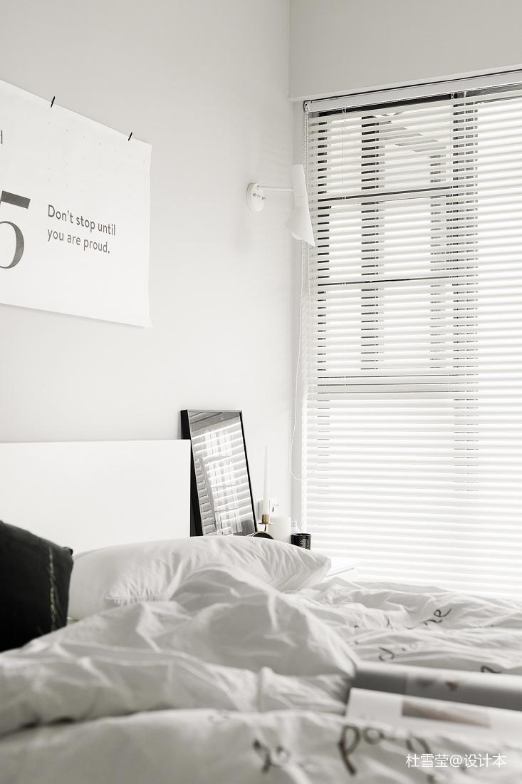 悠雅26平北欧小户型卧室装修图