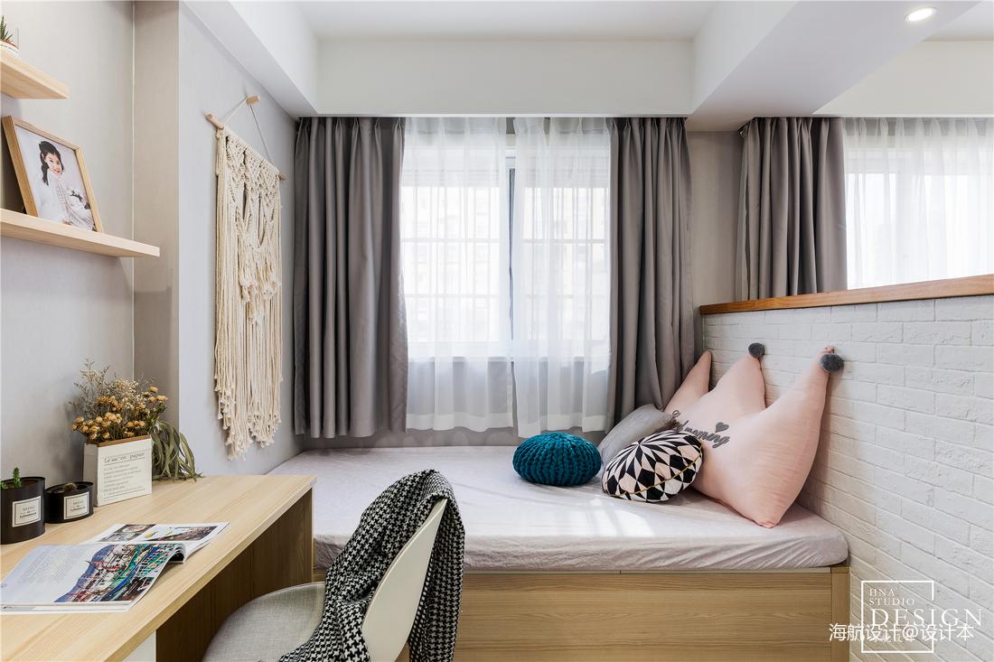 201977平北欧三居休闲区装修设计图