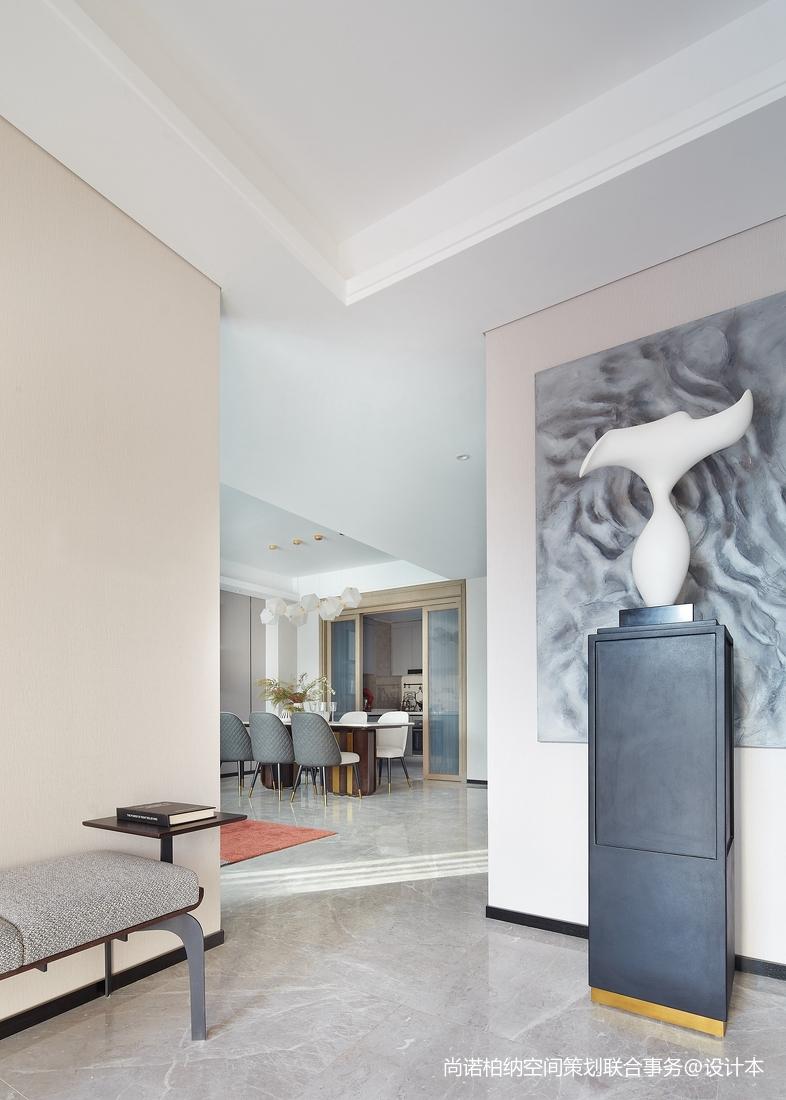 质朴925平现代别墅玄关装修设计图